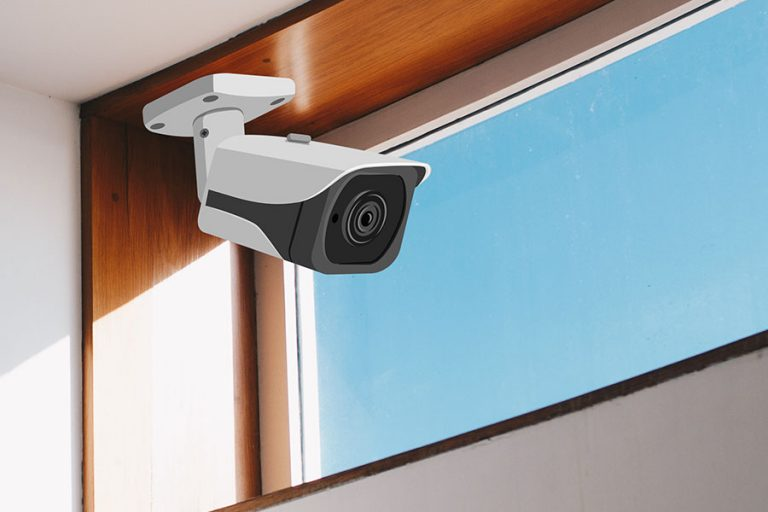 Using An Indoor Security Camera through a Window - Featured Image - Smaller