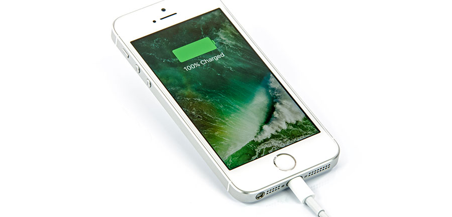 iPhone Battery Fully Charged